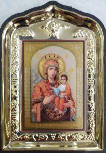 Самонаписавшаяся икона Божией Матери