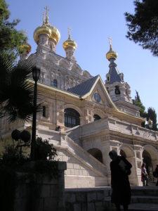 Церковь равноапостольной Марии Магдалины в Гефсимании