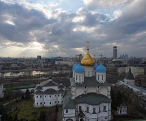 Преображенский  собор  Новоспасского монастыря