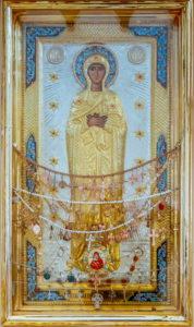 Луганская икона Божией Матери