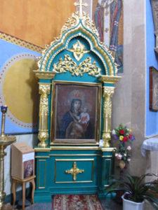 Рудосельская икона Божией Матери в Троицком храме