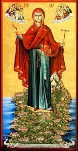 Игумения Святой горы Афон
