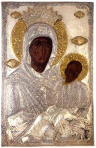 Закланная икона Божией Матери