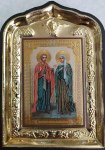 Мученики  Андриан и Наталия