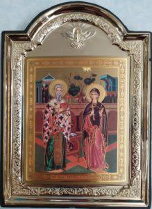 Сященномученик Киприан и мученица Иустиния