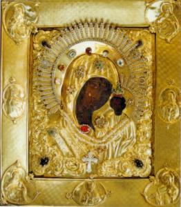 Вышенская  Казанская  икона  Богородицы