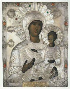 Григориатская икона Богородицы на Афоне