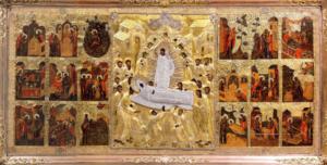 Псково-Печерская икона Успения (в житии)